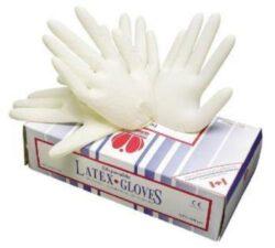 Rukavice latexové LOON jednorázové, vel. XL, 200 ks-Pracovní rukavice latexové LOON, bal. 90 párů