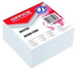 Blok poznámkový nelepený bílý, 85x85 mm-Poznámkový papír náhradní 85 × 85 mm nelepený, bílý.
