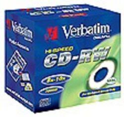 CD-RW Verbatim 8-10x