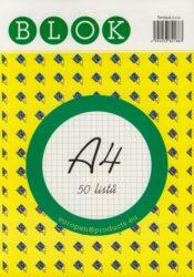 Blok A4 /50ls čtvereček REC