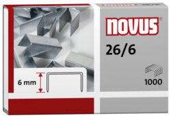 Drátky do sešívačky Novus 26/6, 1000ks-Drátky 26/6 - 1000 ks