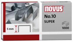 Drátky do sešívačky Novus No.10, 1000ks-Drátky No. 10 SUPER - 1000 ks