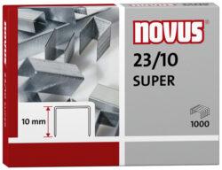 Drátky do sešívačky Novus 23/10, 1000ks-Drátky 23/10 SUPER - 1000 ks