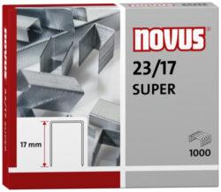 Drátky do sešívačky Novus 23/17, 1000ks-Drátky 23/17 SUPER - 1000 ks
