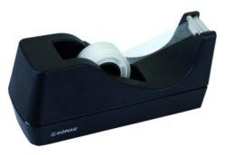 Odvíječ lepící pásky stolní-Ovíječ na pásky 19 mm vnitřní průměr 28mm, černý.