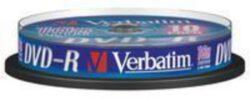 DVD-R 16x4,7 GB Verbatim / Spindle 10ks